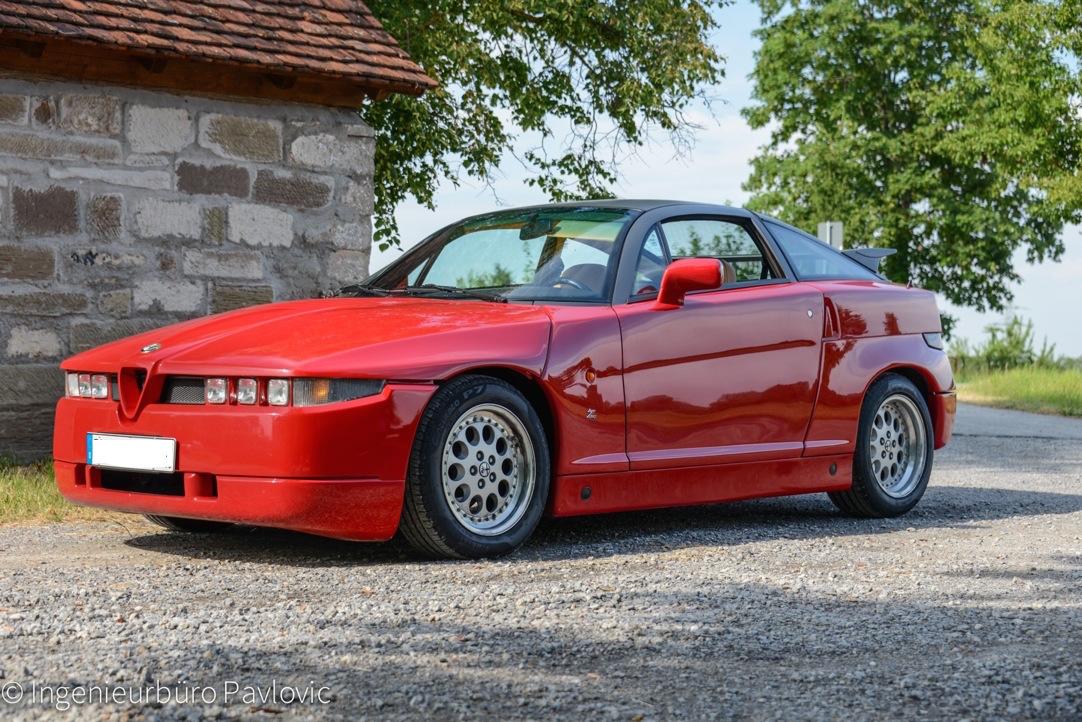 Alfa Romeo SZ_Front